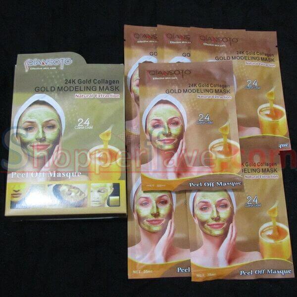 Masker Qiansoto Lumpur Hitam